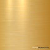 Fondo metálico del oro Textura pulida Imagen de archivo libre de regalías