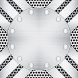 Fondo metálico Textured Imagen de archivo libre de regalías