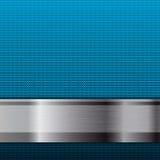 Fondo metallico astratto di griglia Immagine Stock