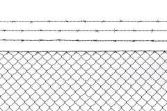 Fondo metallico del modello del recinto Immagine Stock Libera da Diritti