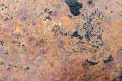 Fondo metallico della ruggine fotografie stock libere da diritti