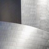 Fondo metallico di alta tecnologia Fotografie Stock