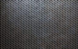 Fondo metallico di griglia di lerciume Fotografia Stock Libera da Diritti
