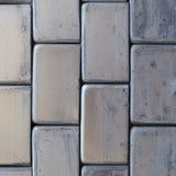 fondo metallico grigio del muro di mattoni Fotografia Stock Libera da Diritti