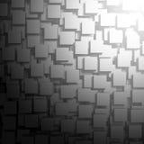 Fondo metálico de plata oscuro abstracto Fotografía de archivo
