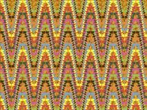 Fondo mexicano abstracto Foto de archivo