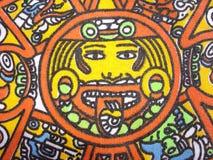 Fondo mexicano de la textura Imagen de archivo