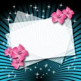 Fondo mágico para insertar el texto Imagen de archivo libre de regalías