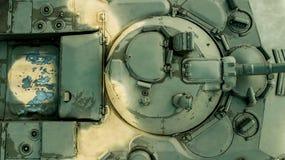 fondo militar Opinión superior del vehículo de lucha de la infantería fotos de archivo