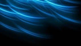 Fondo minimalistic elegante blu di energia Fotografie Stock Libere da Diritti