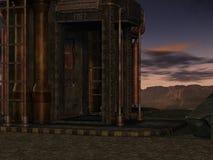 Fondo mistico di fantascienza Fotografie Stock