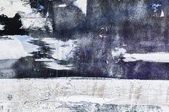 Fondo modelado del púrpura y blanco de la textura Movimientos grandes del cepillo fotos de archivo