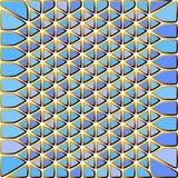 Fondo modellato mosaico Multicoloured Fotografie Stock