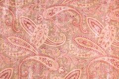 Fondo modellato Paisley rosa interessante immagine stock libera da diritti