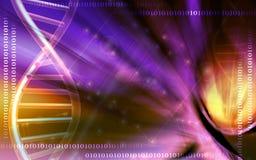 Fondo modelo de la DNA Imagen de archivo libre de regalías