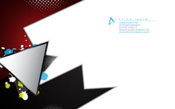 Fondo moderno abstracto del concepto de la tecnología de la forma del vector stock de ilustración