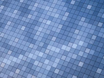 Fondo moderno abstracto del detalle del edificio con la reflexión del color del cielo Imagen de archivo