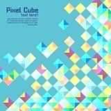 Fondo moderno abstracto del pixel Fotografía de archivo libre de regalías