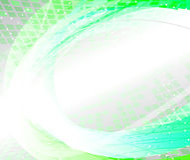 Fondo moderno abstracto verde Imagen de archivo libre de regalías