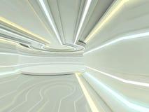 Fondo moderno astratto di architettura rappresentazione 3d Immagine Stock Libera da Diritti