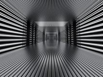 Fondo moderno astratto di architettura rappresentazione 3d Fotografia Stock