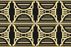 Fondo moderno de Art Deco stock de ilustración