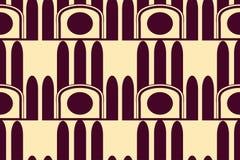Fondo moderno de Art Deco ilustración del vector