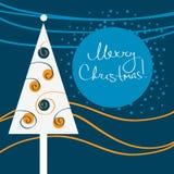 Fondo moderno de la Navidad Libre Illustration
