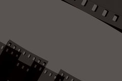 Fondo moderno de la película Fotografía de archivo