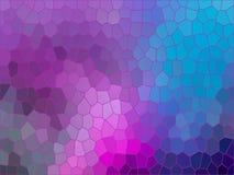 Fondo moderno de las sombras en colores pastel Fotografía de archivo
