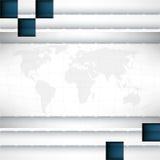 Fondo moderno del cromo del vector Fotografía de archivo