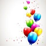 Fondo moderno del cumpleaños Imagen de archivo libre de regalías