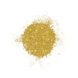Fondo moderno del extracto del brillo del oro del vector Imagen de archivo