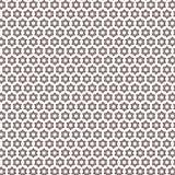 Fondo moderno del modelo del Rhombus del Rhombus de la elegancia única elegante blanca negra de la estrella stock de ilustración