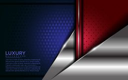 Fondo moderno del patriota con capa de la coincidencia ilustración del vector