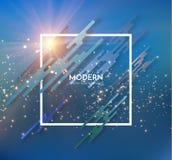 Fondo moderno di vettore della struttura EPS10 Immagini Stock Libere da Diritti
