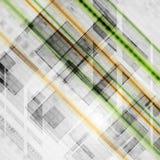Fondo moderno di vettore di ciao-tecnologia Fotografia Stock