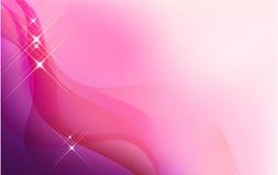 Fondo moderno en color de rosa Imágenes de archivo libres de regalías