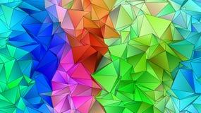 Fondo moderno triangular Bajo-polivinílico abstracto libre illustration