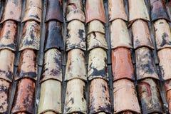 Fondo mojado del tejado Fotografía de archivo
