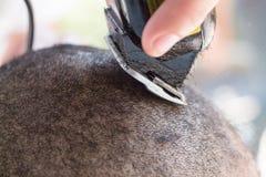 Fondo molle del fuoco della sfuocatura di taglio di capelli Immagine Stock Libera da Diritti