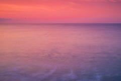 Fondo molle del mare di colori Fotografia Stock Libera da Diritti