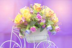 Fondo molle dell'estratto di colore del fiore Fotografie Stock