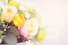 Fondo molle dell'estratto di colore del fiore Immagini Stock Libere da Diritti