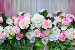Fondo molle delle rose di colore Fotografia Stock Libera da Diritti