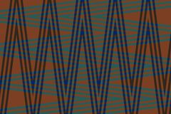 Fondo molto bello e originale con lo zigzag dei colori blu scuro e blu! royalty illustrazione gratis