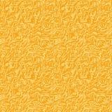 Fondo monótono de la felpa de la textura inconsútil en amarillo libre illustration