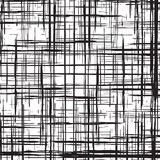 Fondo monocromatico dell'illustrazione dell'estratto di griglia di lerciume Fotografie Stock Libere da Diritti