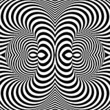 Fondo monocromatico di illusione di giro rapido di progettazione Fotografia Stock Libera da Diritti