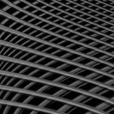 Fondo monocromatico di illusione di griglia di progettazione Immagini Stock